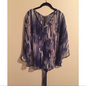Poncho Styled Blouse